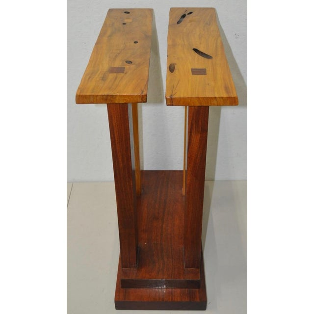 Dia Ates Hardwood Pedestal - Image 4 of 8