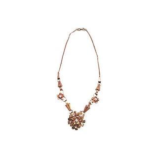 Gold-Filled Flower Necklace
