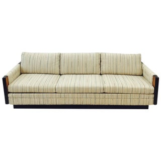 Mid-Century Modern Plinth Base Sofa