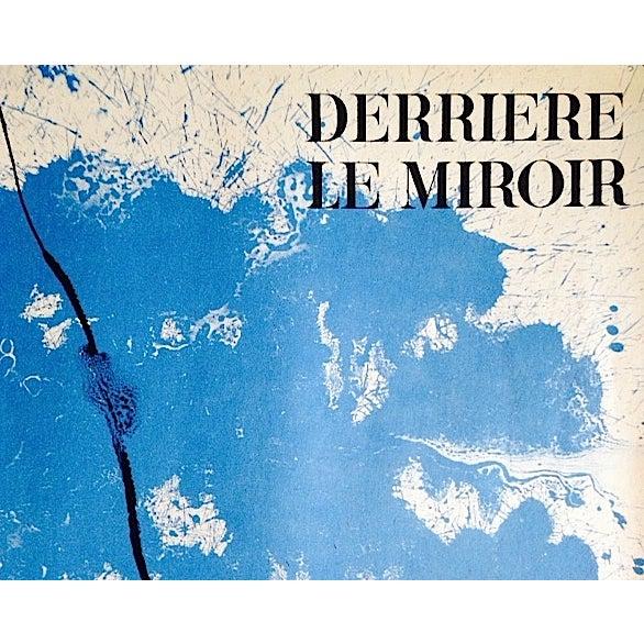 Original 1961 Miro Poster Derriere Le Miroir - Image 3 of 6
