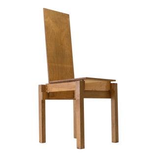 Constructivist Chair in Birch Plywood