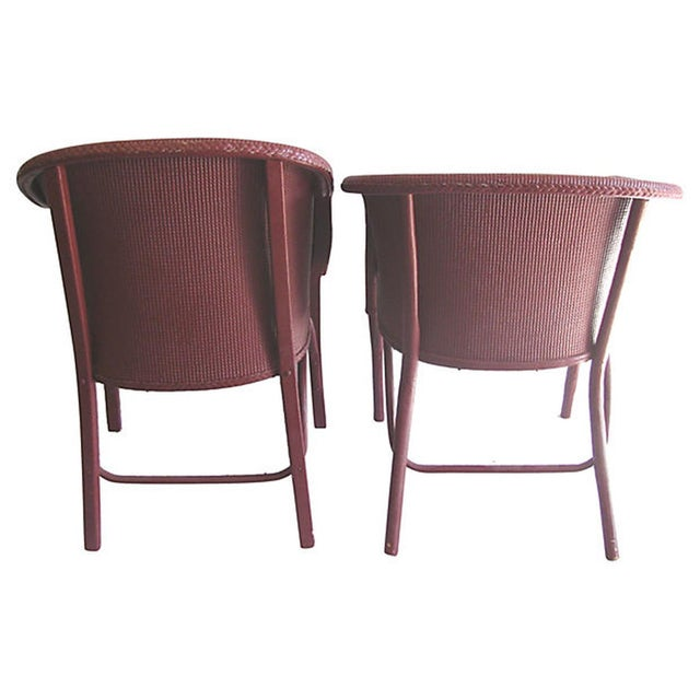Lloyd Loom Wicker Bentwood Chairs - Set of 4 - Image 7 of 7
