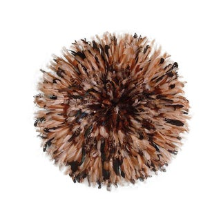 Authentic Cameroon Juju Hat - Natural