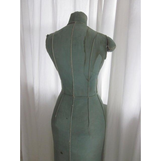 Unusual Full Body Antique Mannequin Form - Image 7 of 8