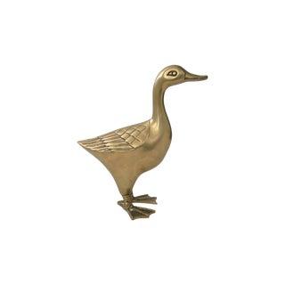 Large Brass Goose