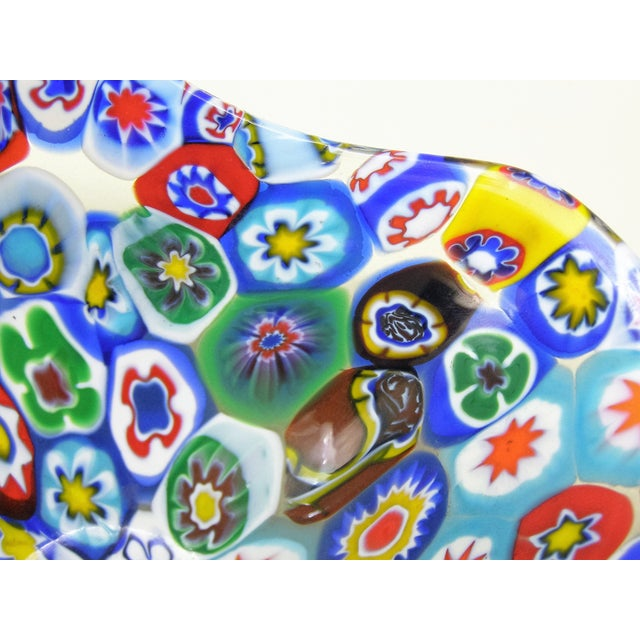 Fratelli Toso Millefiore Mosaic Murano Glass Bowl - Image 9 of 10