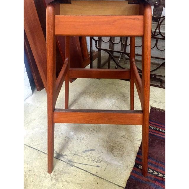 Danish Mid Century Swivel Bar Stool Chairish