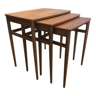 Mid-Century Nesting Side Tables - Set of 3