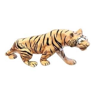 Vintage Porcelain Tiger