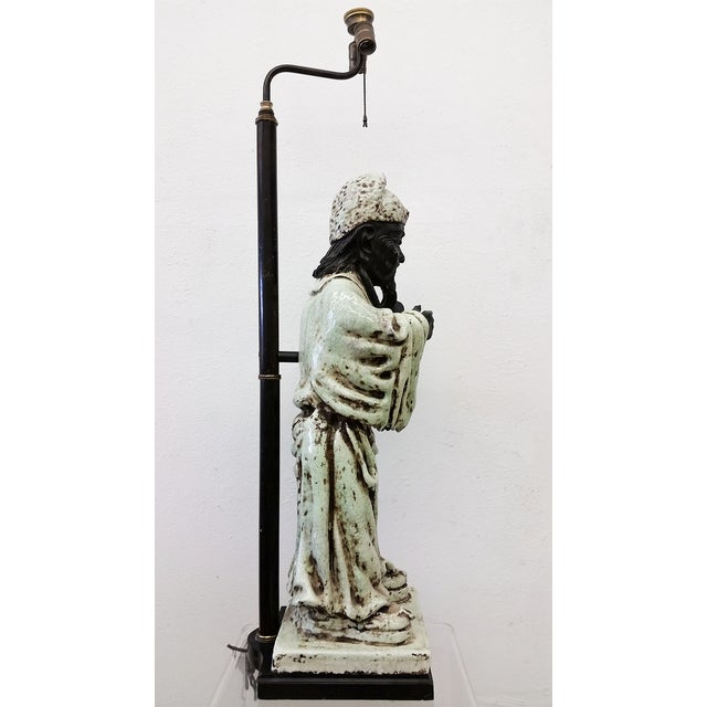 Image of James Mont Style Figural Table Lamp