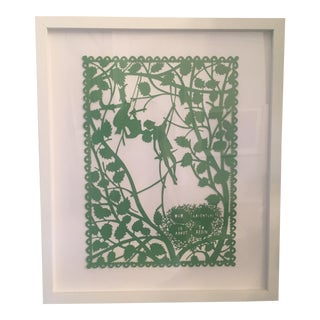 "Beautiful Original Laser-Cut Paper Art ""Adventure"""