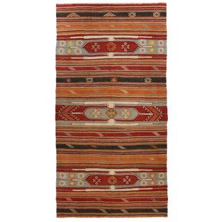 Vintage Turkish Kilim | 5'2 x 10'3 Flatweave