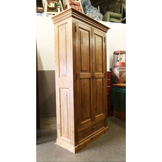 Pine Jelly Cabinet or Armoire - Image 3 of 4