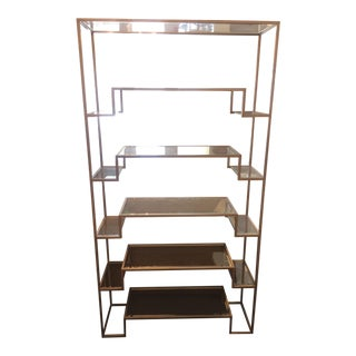 Frontgate Camden Champagne Etagere