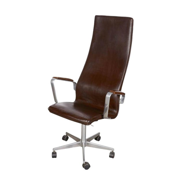 Arne Jacobsen Oxford High Back Chair - Image 1 of 6