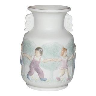 Lladro Bisque-Porcelain Mini Vase