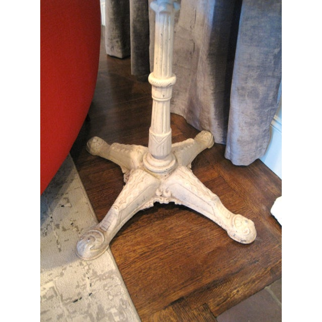 Image of Lacy Mannequin with Antique Cast Iron Base