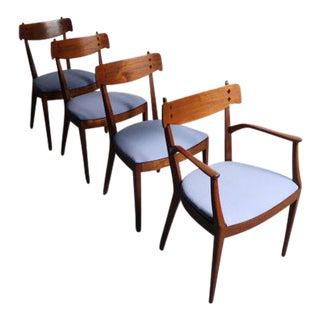 Mid-Century Drexel Declaration by Kipp Stewart Dining Chairs - Set of 4