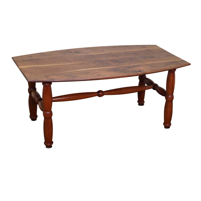 Studio Made Solid Walnut & Mix Wood Coffee Table