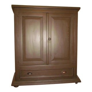 Solid Pine Media Armoire