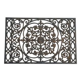 Scrollwork Cast Iron Doormat