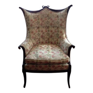 Grosfeld House Sculptural Wingback Chair