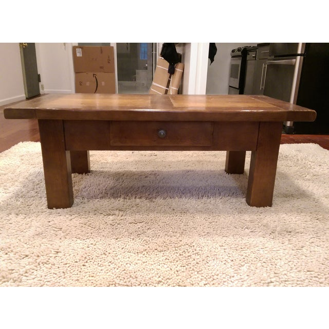 ABC Carpet & Home Solid Wood Coffee Table - Image 6 of 7