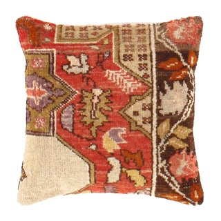Pasargad Hand-Knotted Rug Pillow