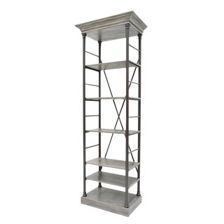 Sarreid Ltd Five Shelf Bookcase