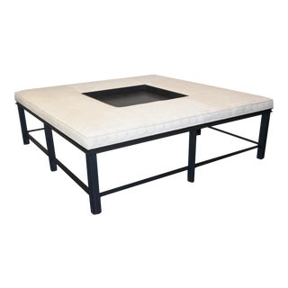 Baker Bill Sofield Coffee Table/Ottoman