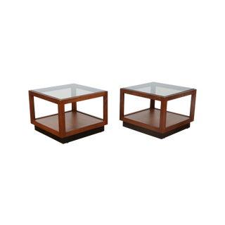Brown & Saltman Side Tables- A Pair