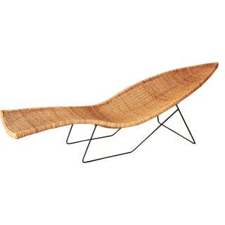Tropi-Cal Mid-Century Fish Chaise