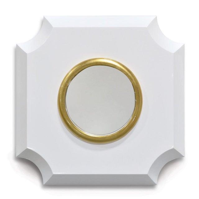 Palecek Andaz White Mirror - Image 6 of 7