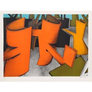 "Jasha Green, ""Untitled 28,"" Lithograph"