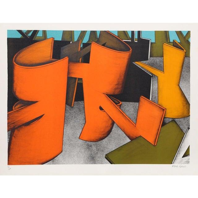 "Jasha Green, ""Untitled 28,"" Lithograph - Image 1 of 2"