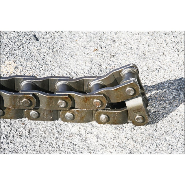 Vintage Industrial Roller Coaster Chain from Hershey Park - Image 5 of 11