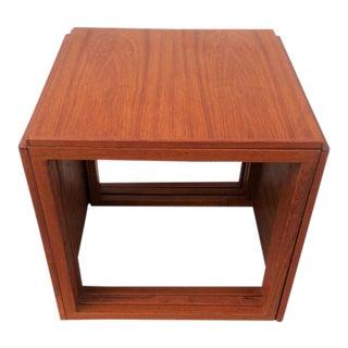 Kai Kristiansen Mid-Century Teak Nesting Tables - Set of 3