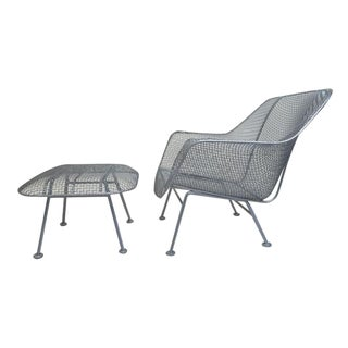 Russell Woodard Sculptura Lounge Chair & Ottoman