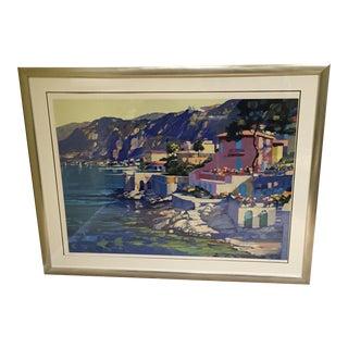 Riviera Serigraph by Howard Behrens