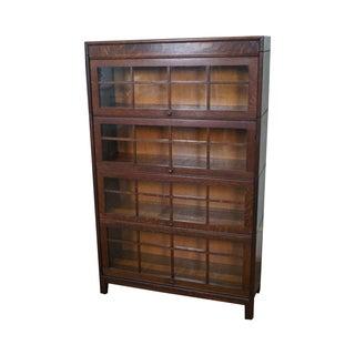 Gunn Furniture Antique Solid Oak Bookcase