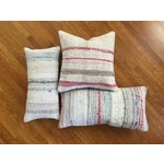 Image of Moroccan Kilim Boho Pastel Pillow Cover