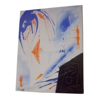 """""""Oracular"""" Original Acrylic Painting by Dawn Walling"""