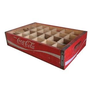 Vintage Coca Cola Bottle Tray