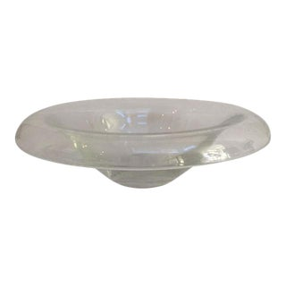Contemporary Glass Bowl