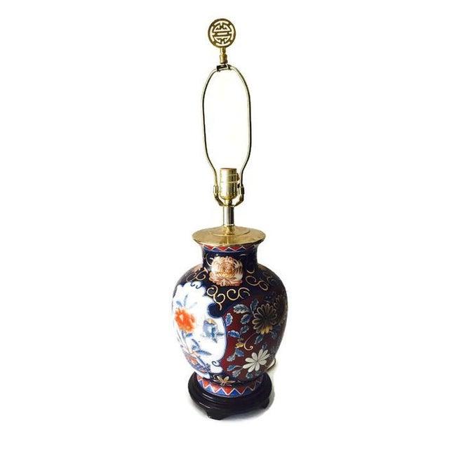Ornate Vintage Ginger Jar Lamp - Image 2 of 6