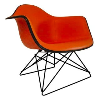 Herman Miller Mid-Century Orange Lounge Chair
