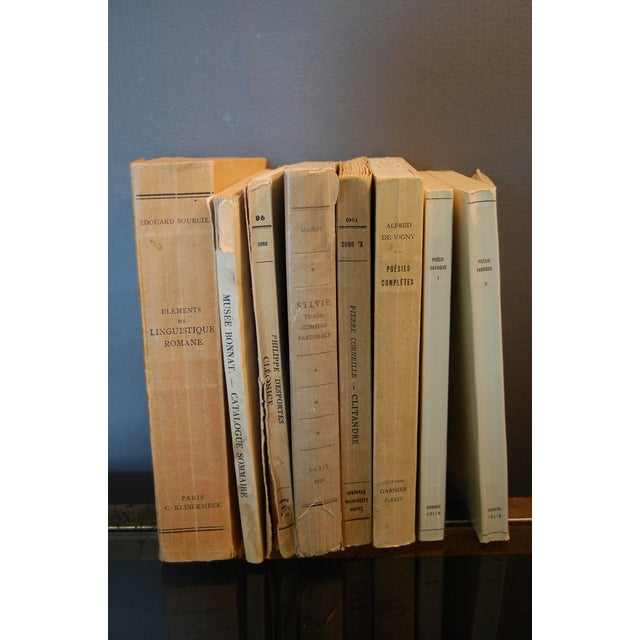 Image of Vintage French Paperback Books - Set of 8