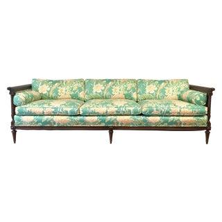 Chinoiserie Tuxedo Sofa