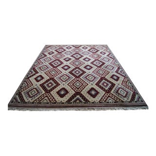 Vintage Turkish Carpet - 9′9″ × 12′3″