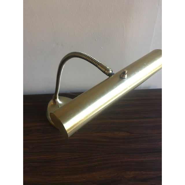 Mid-Century Brass Desk Lamp - Image 7 of 9